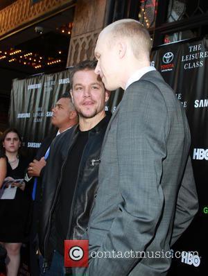 Matt Damon and Jason Mann