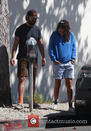 Shia LaBeouf - Shia LaBeouf with a female companion go out to have lunch at Sweet Butter restaurant in Studio...