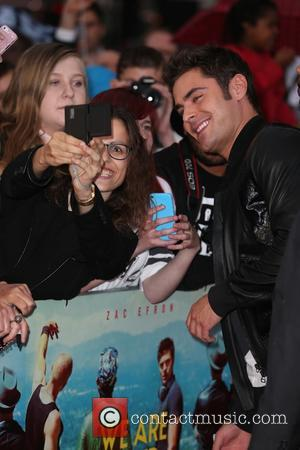 Zac Efron - 'We Are Your Friends' UK premiere - Arrivals at Ritzy Picturehouse, Brixton - London, United Kingdom -...
