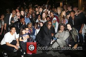 Zendaya Coleman , fans - Disney star Zendaya Coleman mobbed by fans as she arrives back at her London hotel...