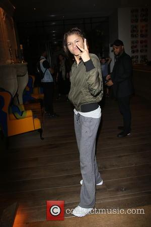 Zendaya Coleman - Disney star Zendaya Coleman mobbed by fans as she arrives back at her London hotel at Ham...