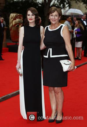 Michelle Dockery , Lorraine Dockery - BAFTA tribute to Downton Abbey at the Richmond Theatre - Arrivals - London, United...