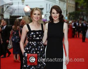 Laura Carmichael , Michelle Dockery - BAFTA tribute to Downton Abbey at the Richmond Theatre - Arrivals - London, United...