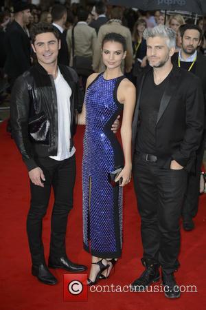 Emily Ratajkowski, Zac Efron , Max Joseph - 'We Are Your Friends' premiere - Arrivals - London, United Kingdom -...