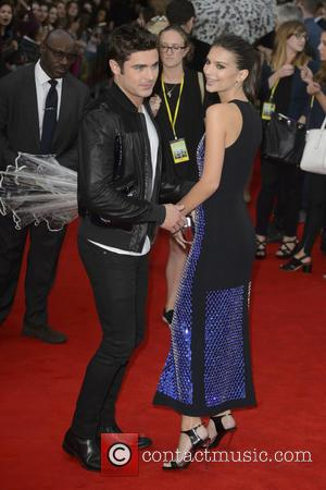 Emily Ratajkowski , Zac Efron - 'We Are Your Friends' premiere - Arrivals - London, United Kingdom - Tuesday 11th...