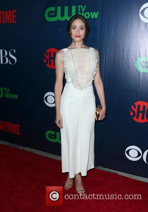 Emmy Rossum - CBS, CW And Showtime 2015 Summer TCA Party at Pacific Design Center - Arrivals at Pacific Design...