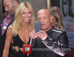 Heidi Klum and Howie Mandel