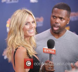 Heidi Klum and Aj Calloway