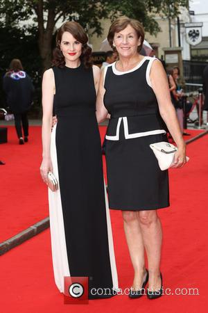 Michelle Dockery , with her Mother Lorraine Dockery - BAFTA Tribute: Downton Abbey held at the Richmond Theatre - Arrivals...