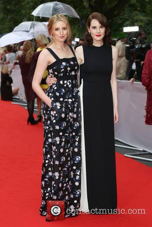Laura Carmichael , Michelle Dockery - BAFTA Tribute: Downton Abbey held at the Richmond Theatre - Arrivals - London, United...