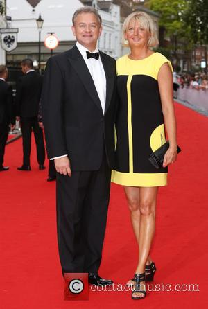 Hugh Bonneville and Lulu Williams