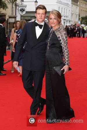 Ed Speleers , Asia Macey - BAFTA Tribute: Downton Abbey held at the Richmond Theatre - Arrivals - London, United...