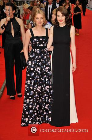 Laura Carmichael , Michelle Dockery - BAFTA Tribute: Downton Abbey held at the Richmond Theatre - Arrivals at Westfields, Stratford...