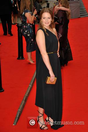 Cara Theobold - BAFTA Tribute: Downton Abbey held at the Richmond Theatre - Arrivals at Westfields, Stratford - London, United...