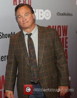 Jim Belushi - New York premiere of HBO's 'Show Me A Hero' at The New York Times Center - Red...