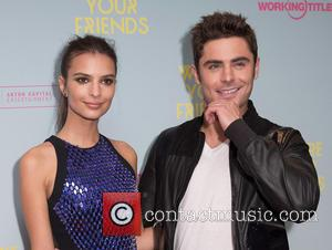 Emily Ratajkowski , Zac Efron - Premiere of 'We Are Your Friends' at Ritzy Brixton - Red Carpet Arrivals at...