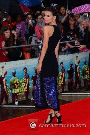 Emily Ratajkowski - Premiere of 'We Are Your Friends' at Ritzy Brixton - Red Carpet Arrivals - London, United Kingdom...