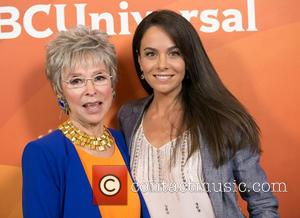 Rita Moreno and Michele Lepe