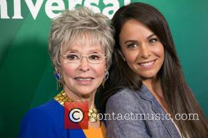 Rita Moreno , Michele Lepe - Celebrities attend 2015 NBCUniversal's press tour at The Beverly Hilton Hotel. at The Beverly...