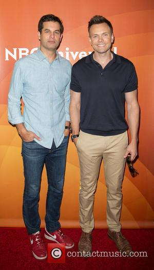 Michael Kosta and Joel McHale