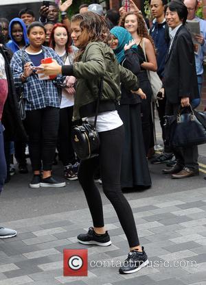 Zendaya - Disney star Zendaya Coleman leaves her hotel at Disney - London, United Kingdom - Wednesday 12th August 2015