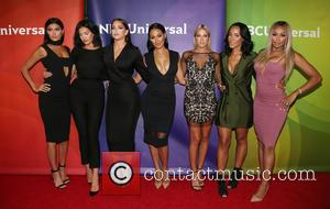 Nicole Williams, Natalie Halcro, Olivia Pierson, Sasha Gates, Barbie Blank, Ashley North , Autumn Ajirotutu - NBCUniversal press tour 2015...
