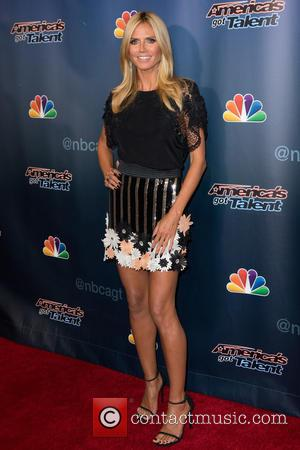 Heidi Klum - 'America's Got Talent' season 10 at Radio City Music Hall - Red Carpet Arrivals at Radio City...