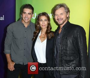 Galen Gering, Kristian Alfonso , Stephen Nichols - Celebrities attend 2015 NBCUniversal's press tour at the Beverly Hilton Hotel. at...