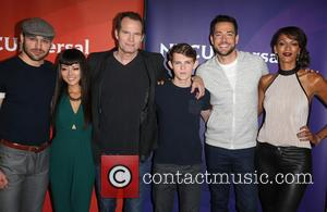 Ryan Guzman, Kiki Sukezane, Jack Coleman, Robbie Kay, Zachary Levi , Judi Shekoni - 2015 Summer TCA Tour at The...