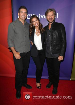 Galen Gering, Kristian Alfonso , Stephen Nichols - 2015 Summer TCA Tour at The Beverly Hilton Hotel - The Beverly...