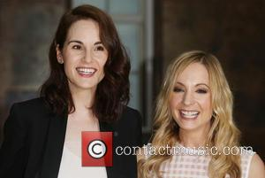 Michelle Dockery , Joanne Froggart - Downton Abbey Launch photocall held at the May Fair Hotel - Arrivals - London,...