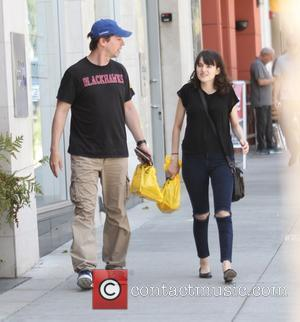 Sean Hayes - Will & Grace actor Sean Hayes goes shopping in Beverly Hills with a female companion - Los...