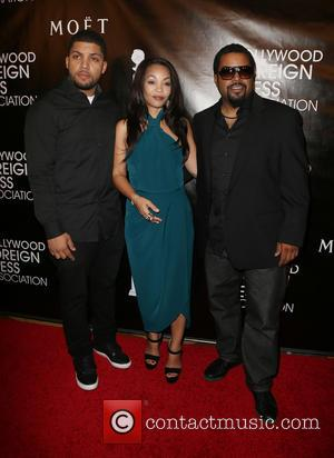O'shea Jackson Jr., Kimberly Woodruff and Ice Cube