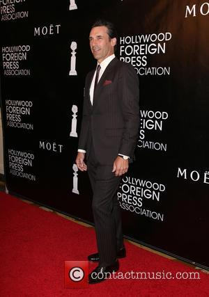 Jon Hamm - The Hollywood Foreign Press Association's Grants Banquet at The Beverly Wilshire Hotel - Arrivals at The Beverly...