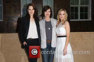 Michelle Dockery, Elizabeth McGovern and Joanne Froggart