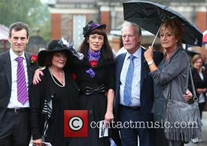 Dennis Waterman, Pam Flint and Penny Morrell