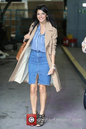 Natalie Anderson - Natalie Anderson and Gaynor Faye outside ITV Studios - London, United Kingdom - Friday 14th August 2015