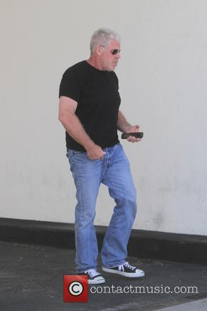 Ron Perlman - Ron Perlman spotted out to lunch in Beverly Hills - Los Angeles, California, United States - Friday...