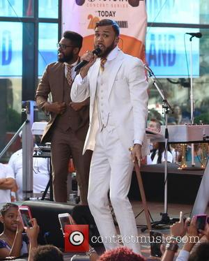 Jidenna - Today Show Summer Concert Series 2015 - Janelle Monae and Jidenna - New York City, New York, United...