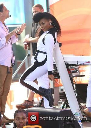 Janelle Monáe - Today Show Summer Concert Series 2015 - Janelle Monae and Jidenna - New York City, New York,...