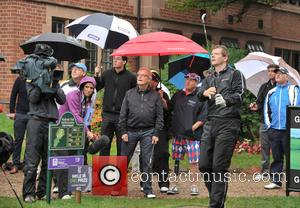 William Roache MBE , Roger Hurcombe - 2015 Farmfoods British Par 3 Championship held at Nailcote Hall - Day 4...