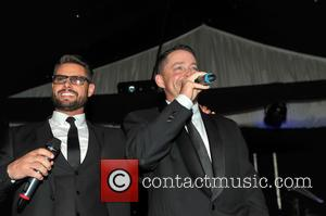 Keith Duffy and Mark Murphy