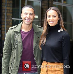 Rochelle Humes , Marvin Humes - Rochelle and Marvin Humes outside the ITV studios - London, United Kingdom - Friday...