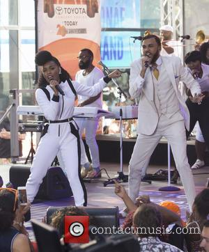 Janelle Monae , Jidenna - Today Show Summer Concert Series 2015 - Janelle Monae and Wondaland - New York City,...