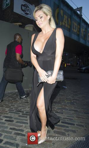 Nicola McLean - Celebrities at Gilgamesh restaurant - London, United Kingdom - Saturday 15th August 2015