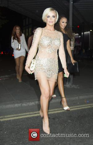 Maria Fowler - Celebrities at Gilgamesh restaurant - London, United Kingdom - Saturday 15th August 2015