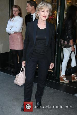 Patricia Hodge - 'Downton Abbey' wrap party at The Ivy - Arrivals at The Ivy - London, United Kingdom -...