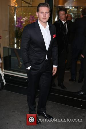 Allen Leech - 'Downton Abbey' wrap party at The Ivy - Arrivals at The Ivy - London, United Kingdom -...