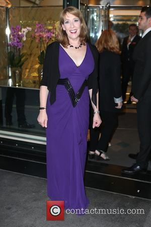 Phyllis Logan - 'Downton Abbey' wrap party at The Ivy - Arrivals at The Ivy - London, United Kingdom -...