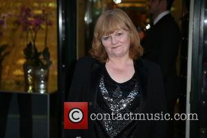 Lesley Nicol - 'Downton Abbey' wrap party at The Ivy - Arrivals at The Ivy - London, United Kingdom -...